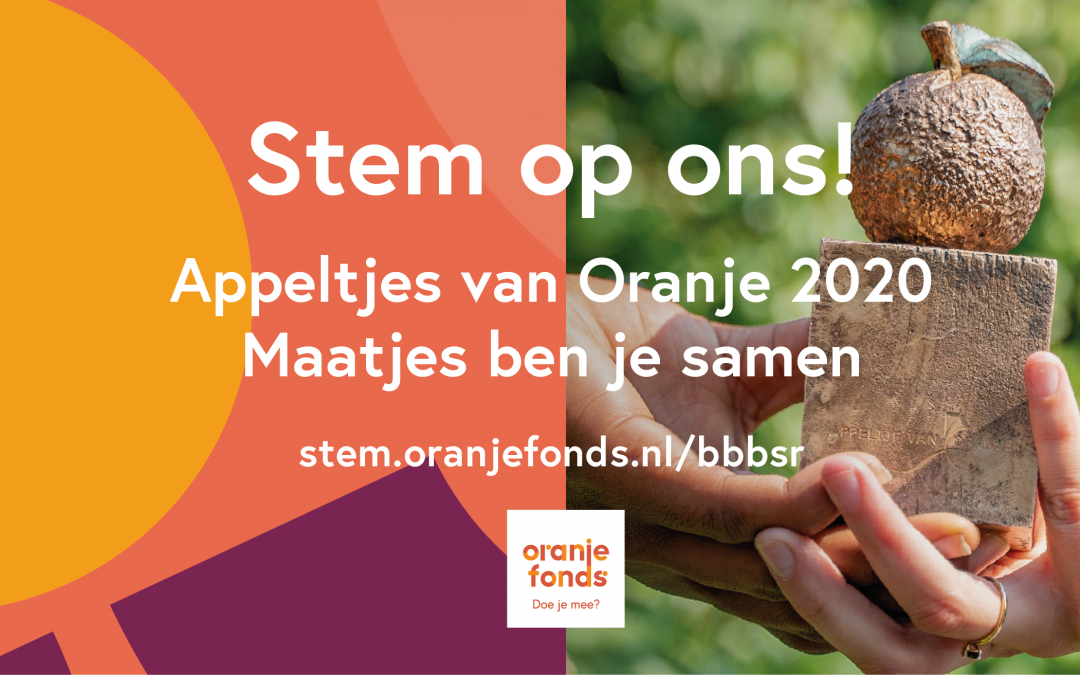 Met jouw stem maken wij kans op een Appeltje van Oranje!